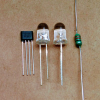 DIY kit simple joule thief 2 led