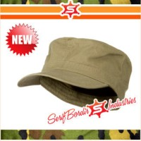 Topi Shooting Tactical topi Baseball Tentara Topi Coklat Topi Bordir