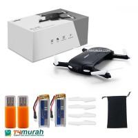 JJRC Elfie Mini Drone Kamera 720p HD 2 MP New Black Edition