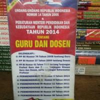 UU RI no 14 thn 2005 & pmp dan Kebud RI Thn 2014 (Guru dan Dosen)