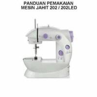 MURAH sewing machine mini mesin jahit portable LED listrik elektrik
