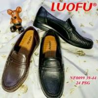 jelly shoes sepatu pria pantofel karet import NF0099