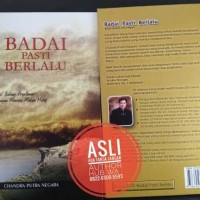 BUKU BADAI PASTI BERLALU (by Chandra Putra Negara) ASLI