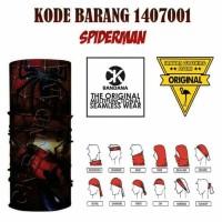 CK Bandana 1407001 Spiderman Masker Buff Multifungsi