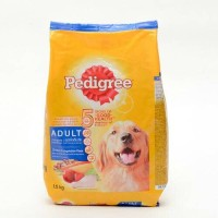 Harga makanan anjing pedigree chicken vegetable flavor 1 | antitipu.com
