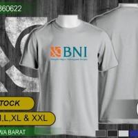 Kaos Murah Bank BNI Logo Distro Keren