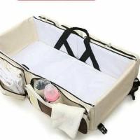 MURAH Tas perlengkapan bayi baby Tempat Tidur portable bayi serbaguna