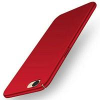 Casing HP murah OPPO a39 ultra thin hard case merah