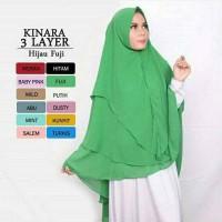 Jual khimar syari kinara 3 layer hijab jilbab kerudung Murah