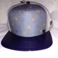 Topi original quiksilver lidah topi mika