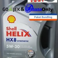 Bundling Oli Mesin Shell dan Oli Filter Daihatsu Avanza Xenia Luxio