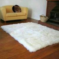 Jual Karpet Bulu Korea 100x130 cm Premium Bulu Gimbal Murah