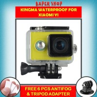 Xiaomi yi waterproof case kingma original yi cam underwater + bonus