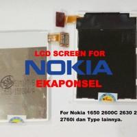 LCD NOKIA 1650 2600c 2630 2670 2760i ORI
