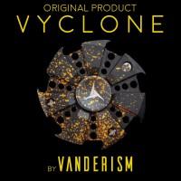 VYCLONE Gyro Chainsaw - Black Orange - By Vanderism