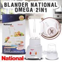 Jual Blender National 2in1 Wadah Kaca 1Liter Hemat Listrik Murah