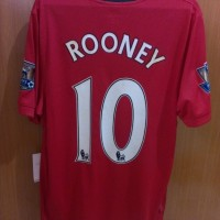 Manchester United 2009/2010 Home Jersey No.10 ROONEY