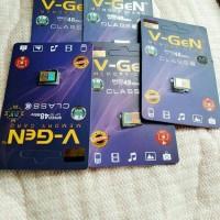 micro sd memory card memori hp v-gen asli original murah 8gb garansi