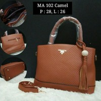 Raja Jual Tas Fashion Wanita Branded - Coklat Camel Limited