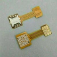 harga Double Dual Sim Card Adapter Converter For Android Extender 2 Nano Sim Tokopedia.com