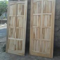 model daun pintu jati baru