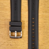 Tali Jam Silicone Rubber Diving Sport Watch Band TAG HEUER Aquaracer