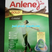 Anlene Gold Coklat 600 Gram Susu untuk usia 51 tahun keatas