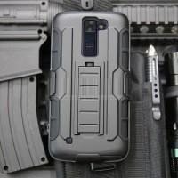 Case HOLSTER LG K8 K350 K10 Casing Softcase Bumper Back Cover Clip HP