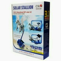 Harga mainan anak hobi anak robot kuda terbang merakit mainan solar | antitipu.com