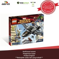 MAINAN ANAK LEGO 69 SUPER HEROES THE EVENGERS QUINJET AERIAL BATTLE