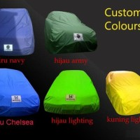 Cover Selimut Mobil Full Outdoor Large MPV Double Layer - Fortuner -