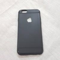BLACK DOFF Casing iPhone 5 5s 5se 6 6s 6+ 6s+ 7 7+ Soft Case