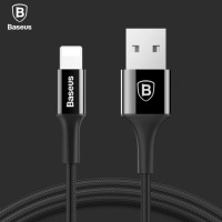 Baseus Original USB Charger For iPhone 5/6/7 Black 1M