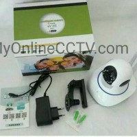 IP Camera CCTV Yoosee Wirelles Portable Baby Monitoring Pasang Online