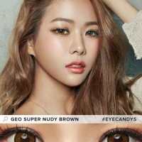 Softlens Geo Super Nudy Brown (Coklat Natural)