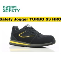 Jual Safety Jogger TURBO S3 HRO Sole Tahan Panas Safetyjogger Shoes New Murah
