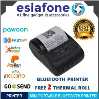 ZJIANG Mini Portable Bluetooth Thermal Printer Kasir POS ZJ-5802 5802