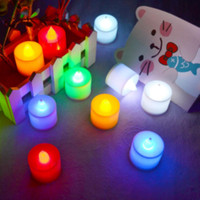 Lilin Elektrik Mini Warna Colorful Candle Lampu Romantis Valentine