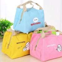 Jual BAYMAX - Lunch bag Cooler bag (bonus 2pcs jelly ice cooler) Murah