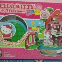 MAINAN LEGO HELLO KITTY MUSIC TREE HOUSE + MUSIC