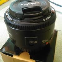 Jual lensa yongnuo ef 50mm 1.8 for canon Murah