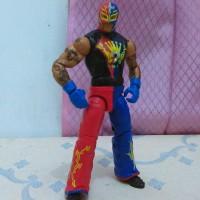 WWE Mattel Elite 21 Rey Mysterio Rare Figure