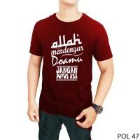 Kaos Dakwah |Kaos islami |Kaos muslim i Allah mendengar