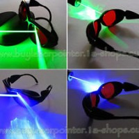 Eye Safety Glasses for Red Blue Green Laser UV Light Protection Goggle