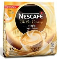 Jual NESCAFE Oh So Creamy White Coffee Original 15s x 36g Murah