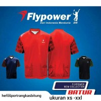 Baju Fly Power Batur / Baju Badminton