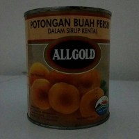 Buah Peach Import All Gold 825gr