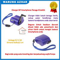 Charger Handphone Smartphone Tenaga Kinektik