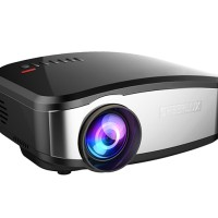 C6 Cheerlux Mini LED Projector 1200 Lumens with TV Tuner - New Model