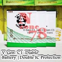 Baterai V-gen Diablo C1 Double Ic Protection